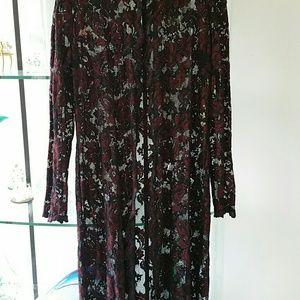 Tops - Lace coat